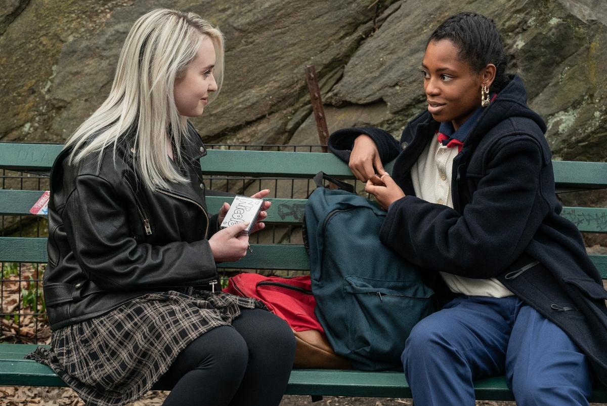 'Power Book III: Raising Kanan' with Annabelle Zasowski as Nicole and Hailey Kilgore as Jukebox