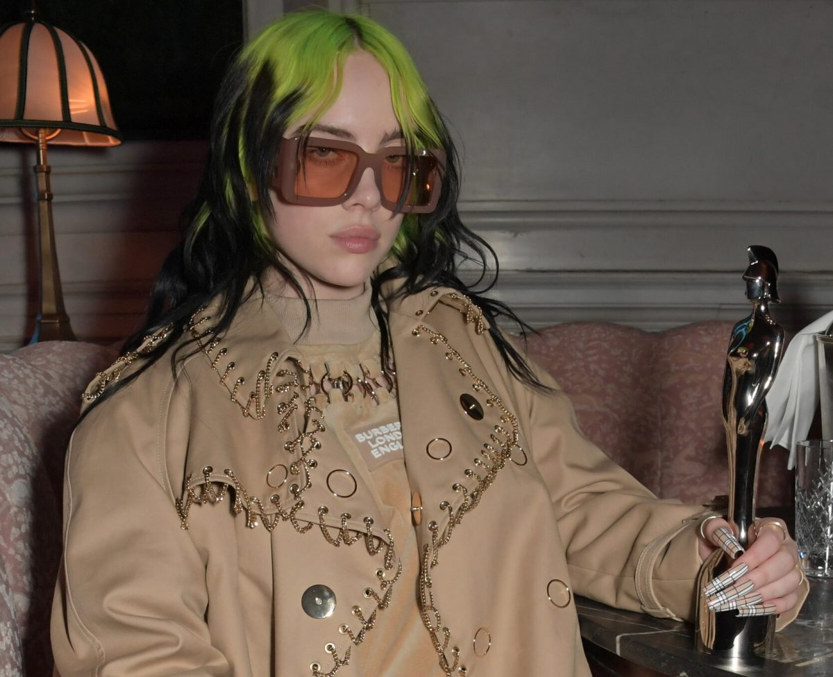 Billie Eilish attends the Universal Music BRIT Awards after-party 2020 hosted by Soho House & PATRON at The Ned on February 18, 2020 in London, England.