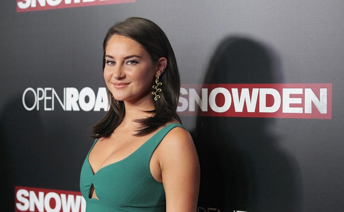 Shailene Woodley attends the 'Snowden' New York premiere on September 13, 2016.