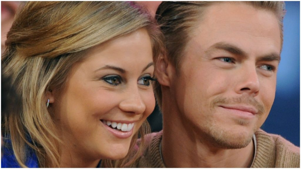 Derek Hough came close to winning Dancing With the Stars with Shawn Johnson.