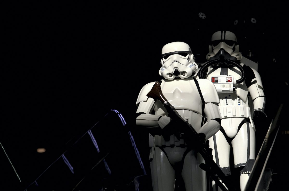 Stormtroopers from 'Star Wars'