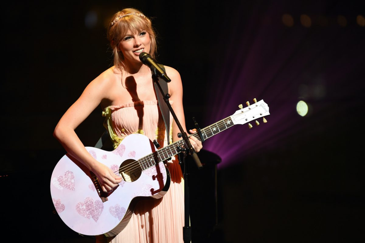 Taylor Swift performs during the TIME 100 Gala 2019 Dinner at Jazz at Lincoln Center on April 23, 2019