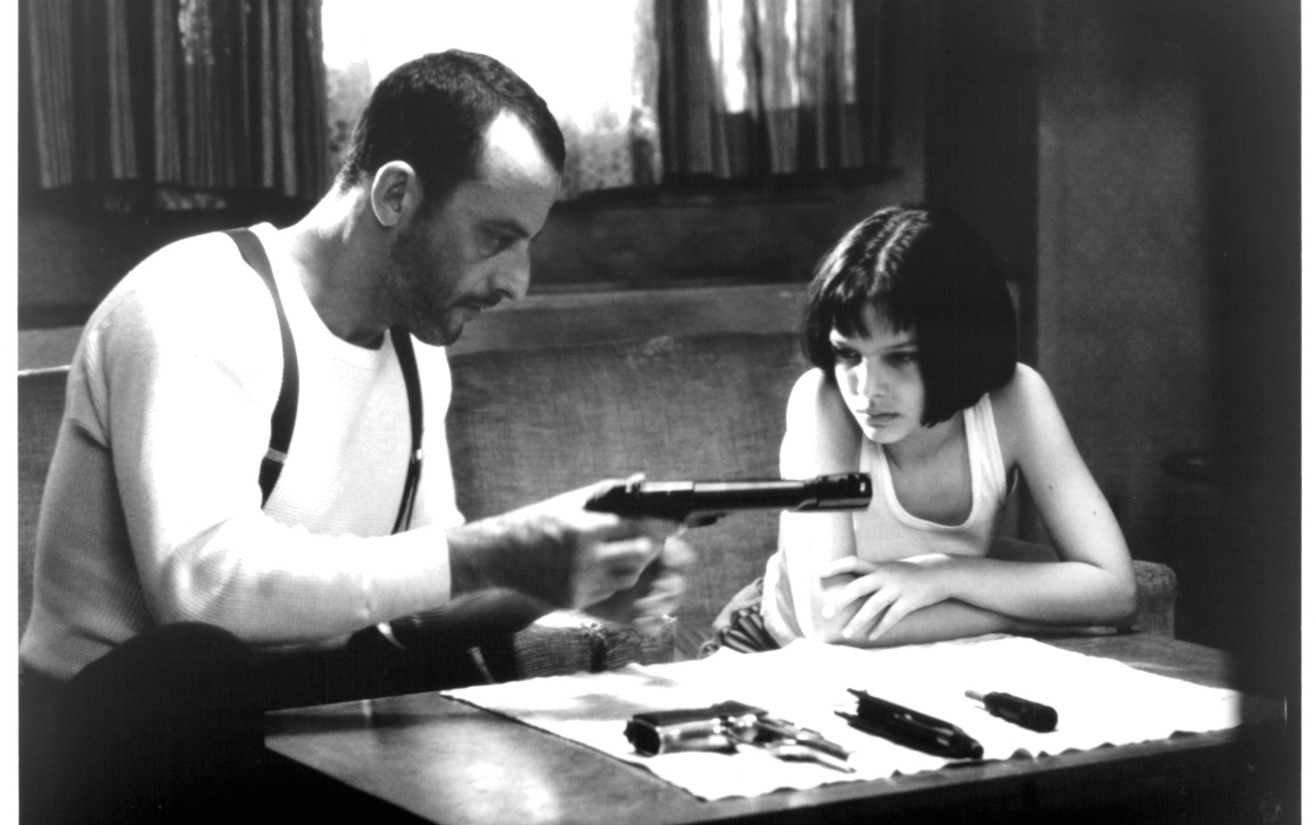 Jean Reno and Natalie Portman in 'Léon: The Professional'