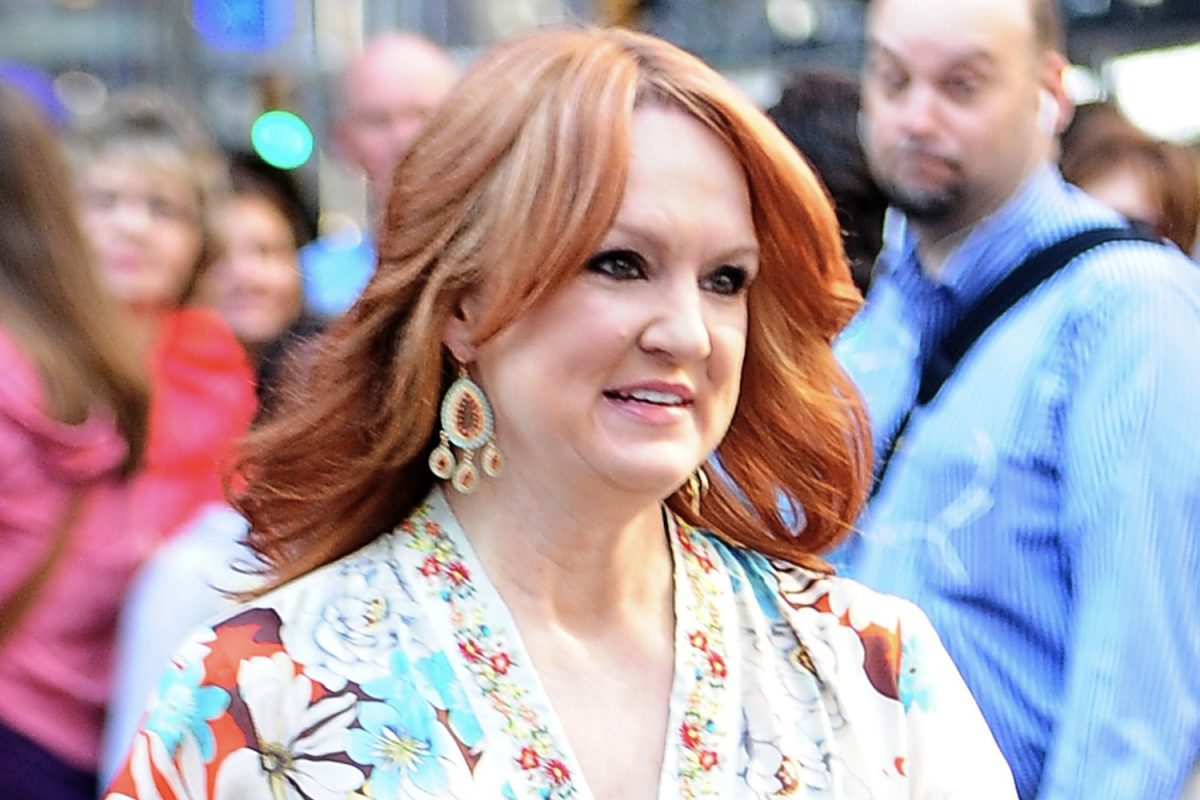 Ree Drummond in the middle of NYC