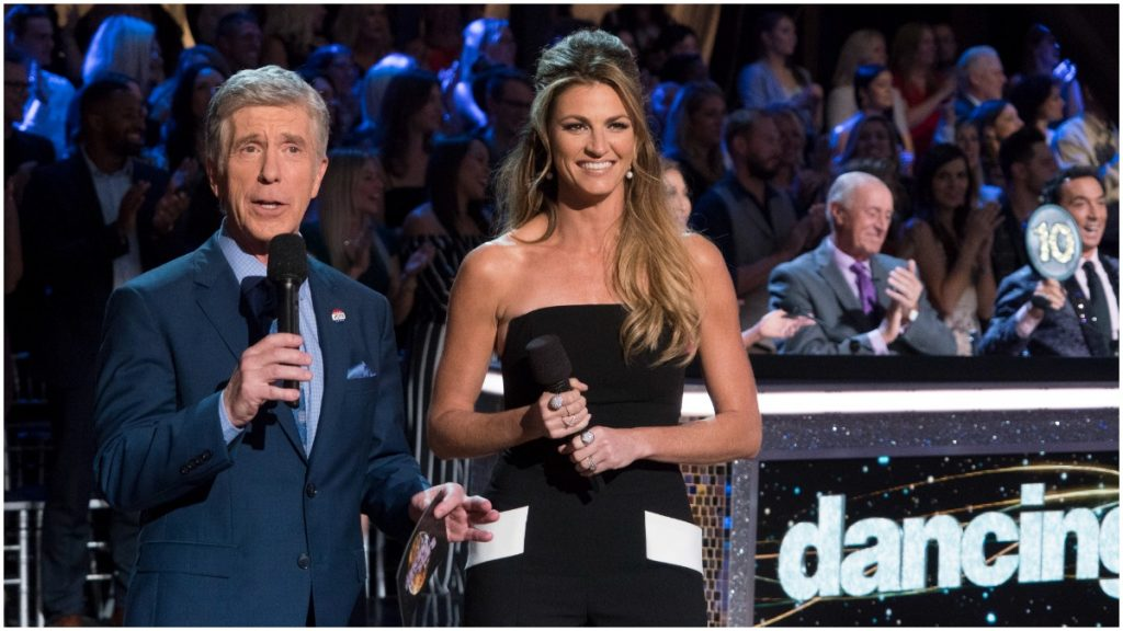 """Tom Bergeron and Erin Andrews departure was one of """"Dancing With the Stars"""" most controversial moments."""