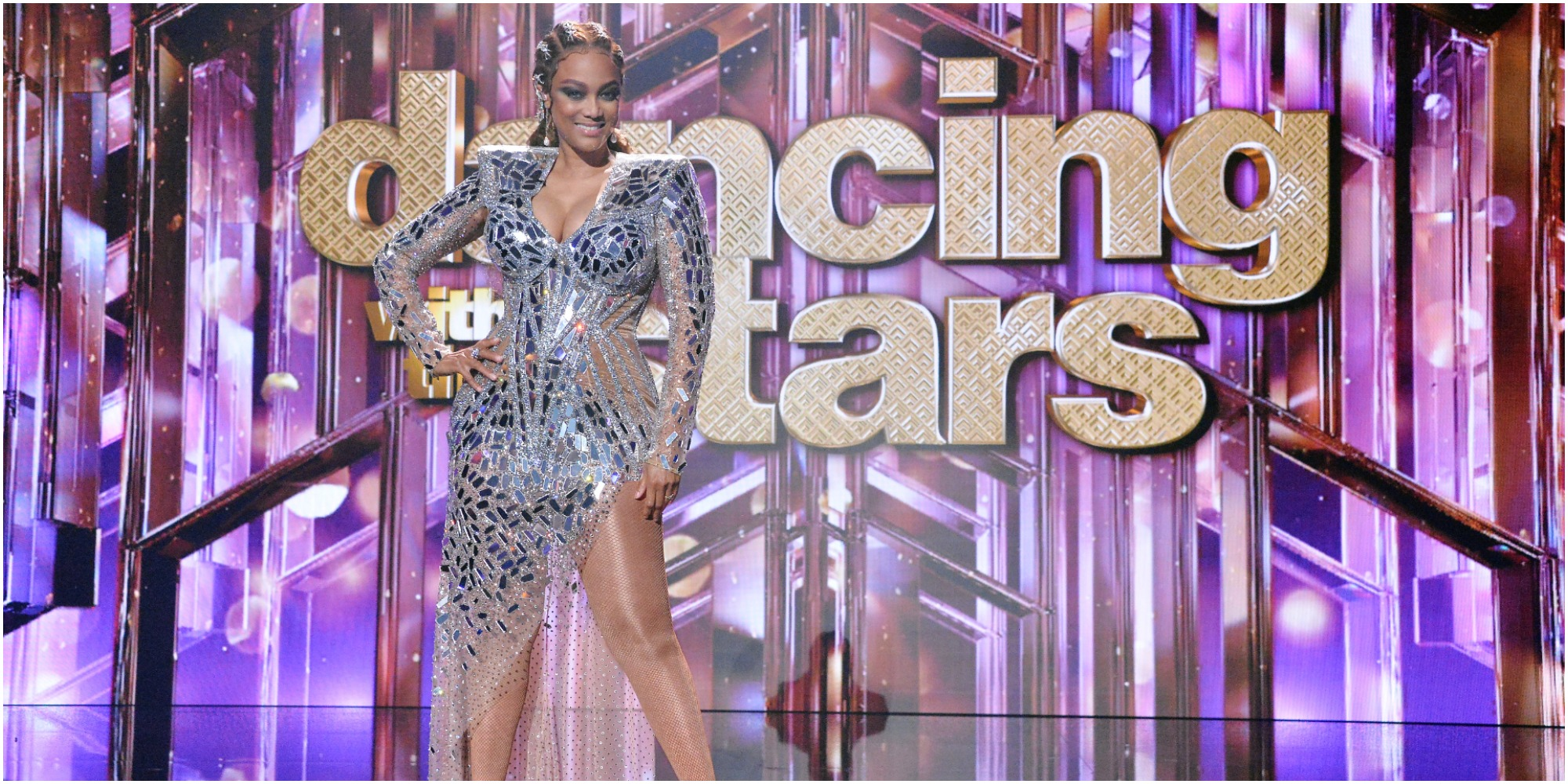 """Tyra Banks plans an """"electrifying"""" entrance on """"Dancing With the Stars."""""""