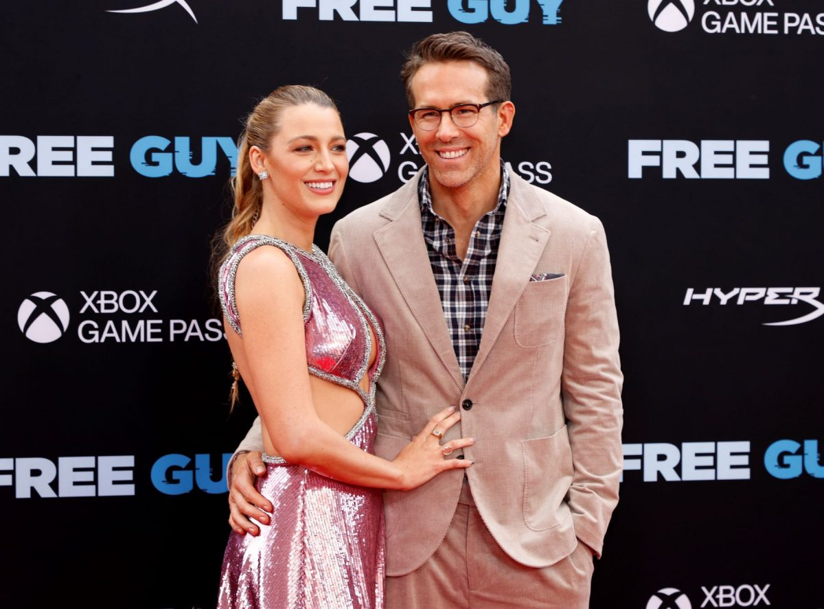 """Blake Lively and Ryan Reynolds attending the """"Free Guy"""" premiere at the AMC Lincoln Square Theater in New York City"""