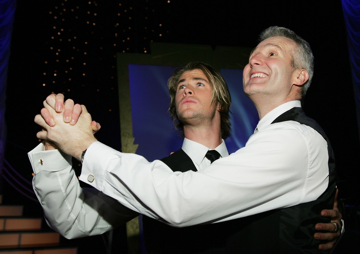 'Dancing with the Stars' Chris Hemsworth and Andrew Gaze (years before he played Thor)