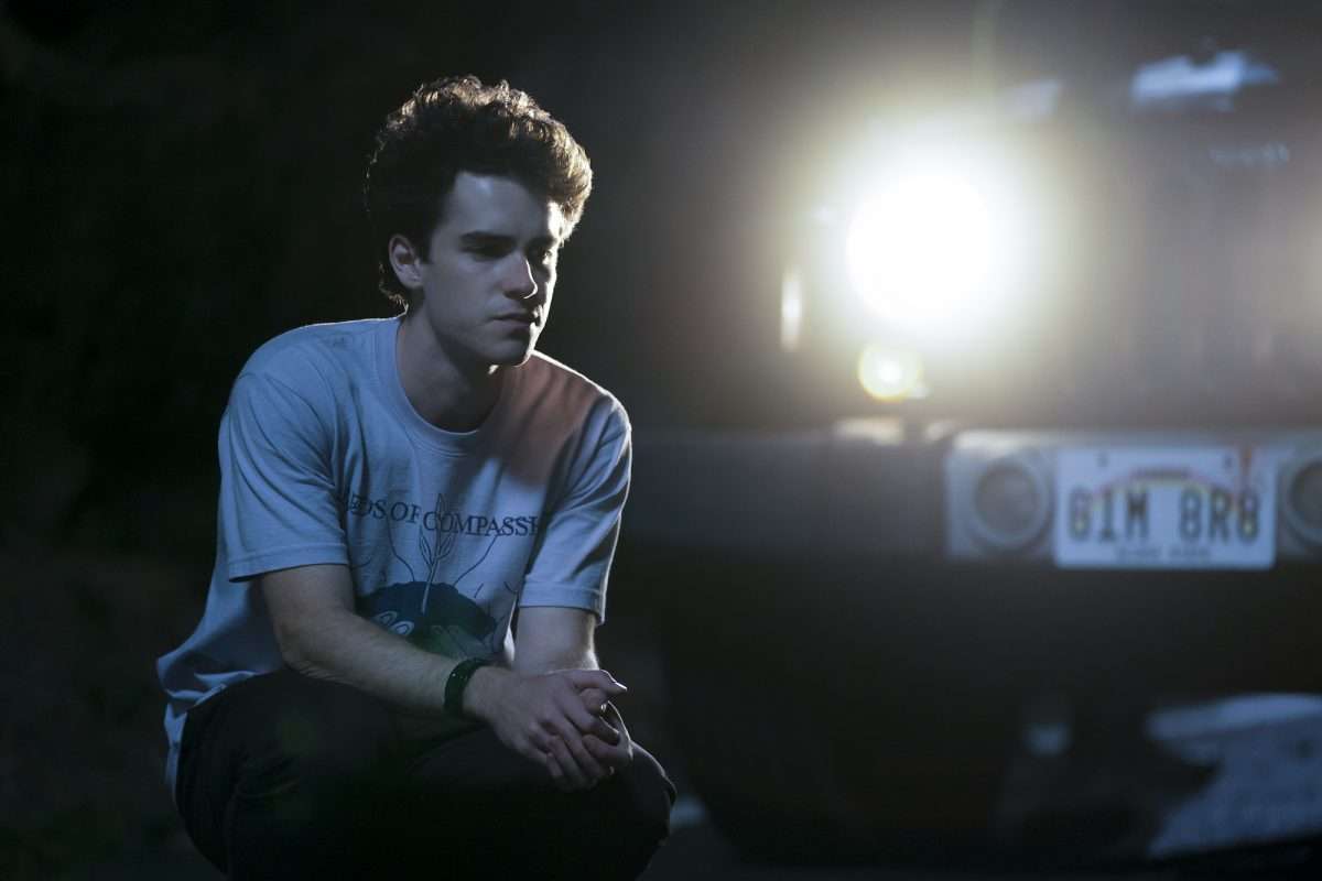 I Know What You Did Last Summer: Ezekiel Goodman crouches in the road