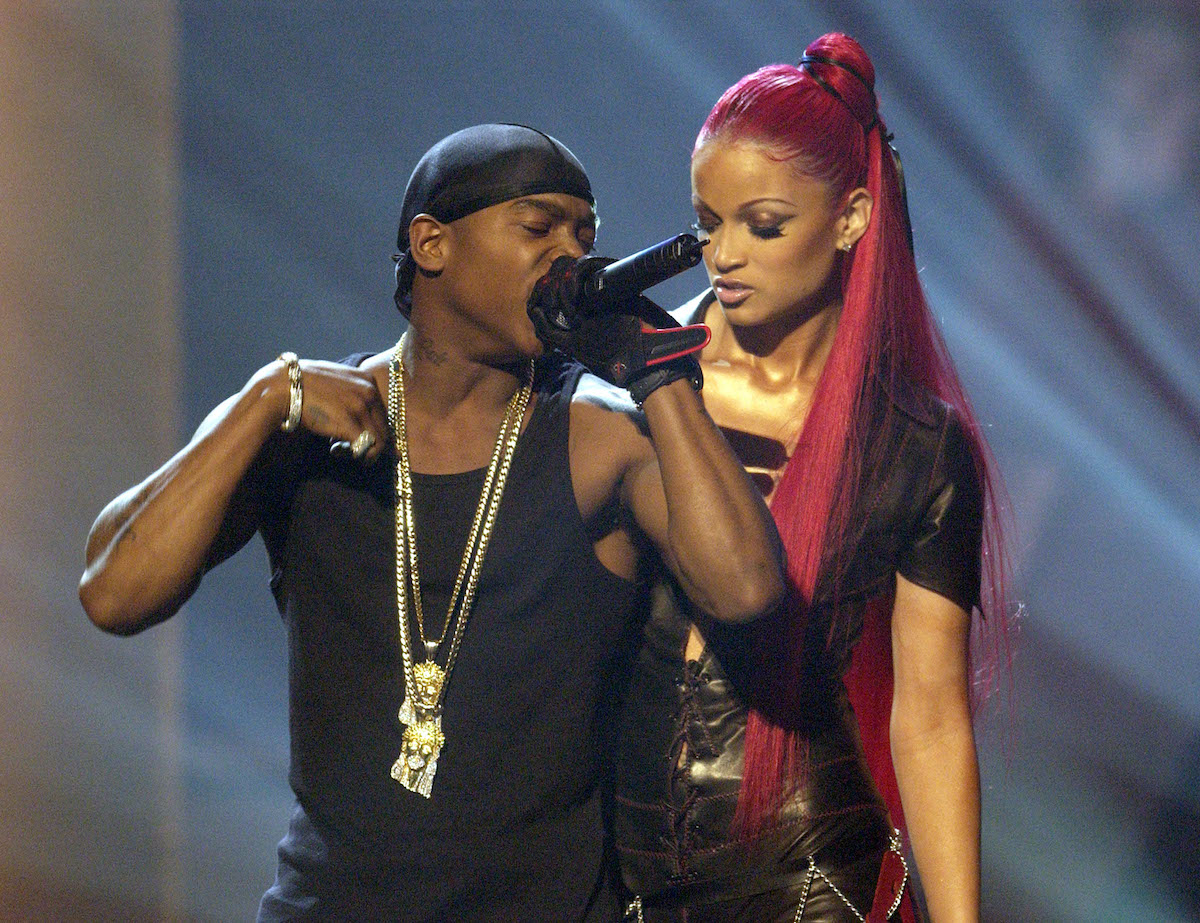 Ja Rule and Charli Baltimore