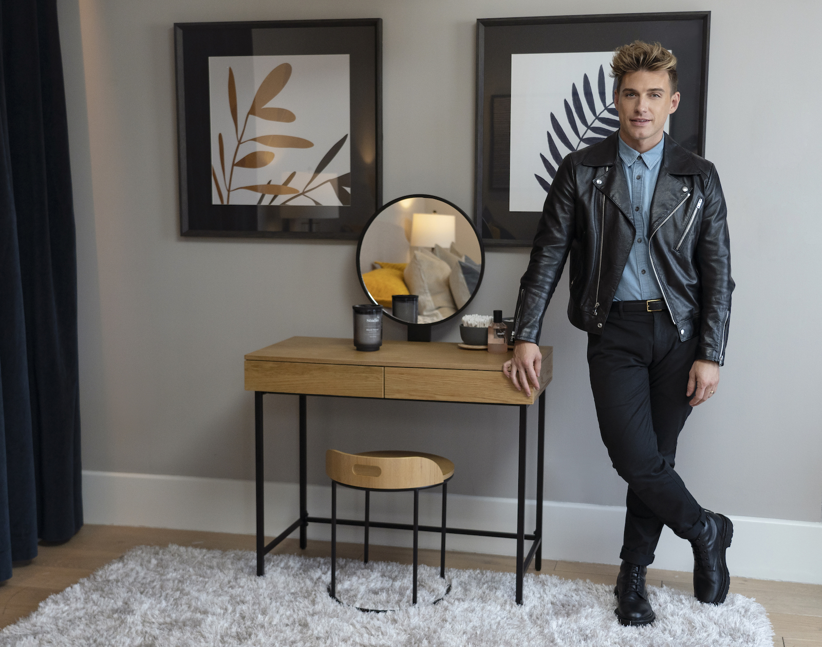 Jeremiah Brent from HGTV's Nate & Jeremiah Home Project