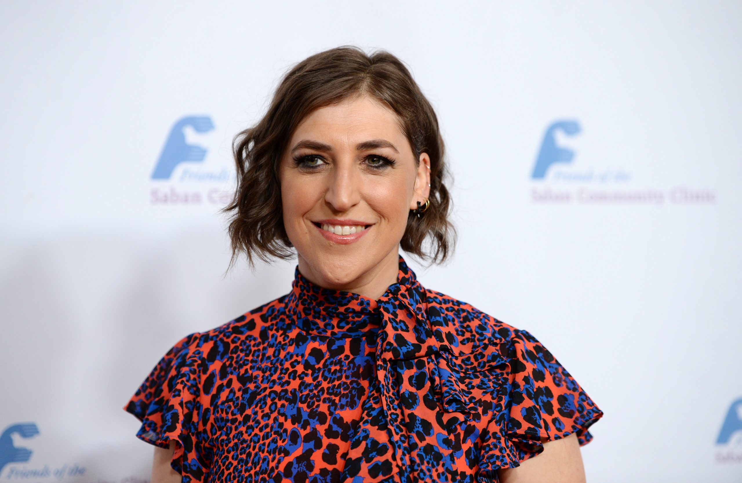 Actress Mayim Bialik arrives at the Saban Community Clinic's 43rd Annual Dinner Gala at The Beverly Hilton Hotel