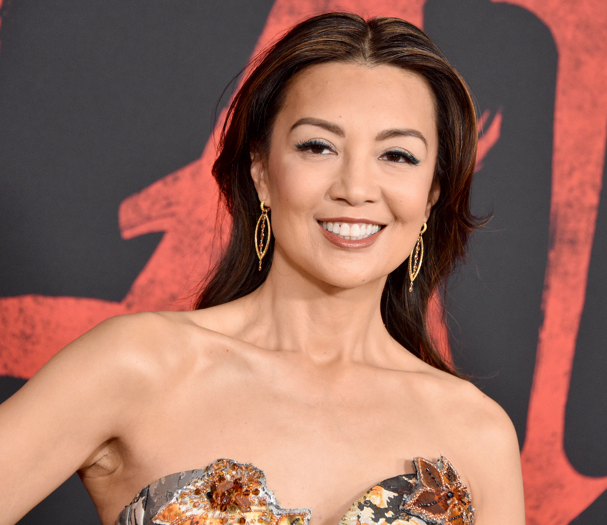 Ming-Na Wen attends the premiere of Disney's 'Mulan' on March 9, 2020, in Hollywood, California