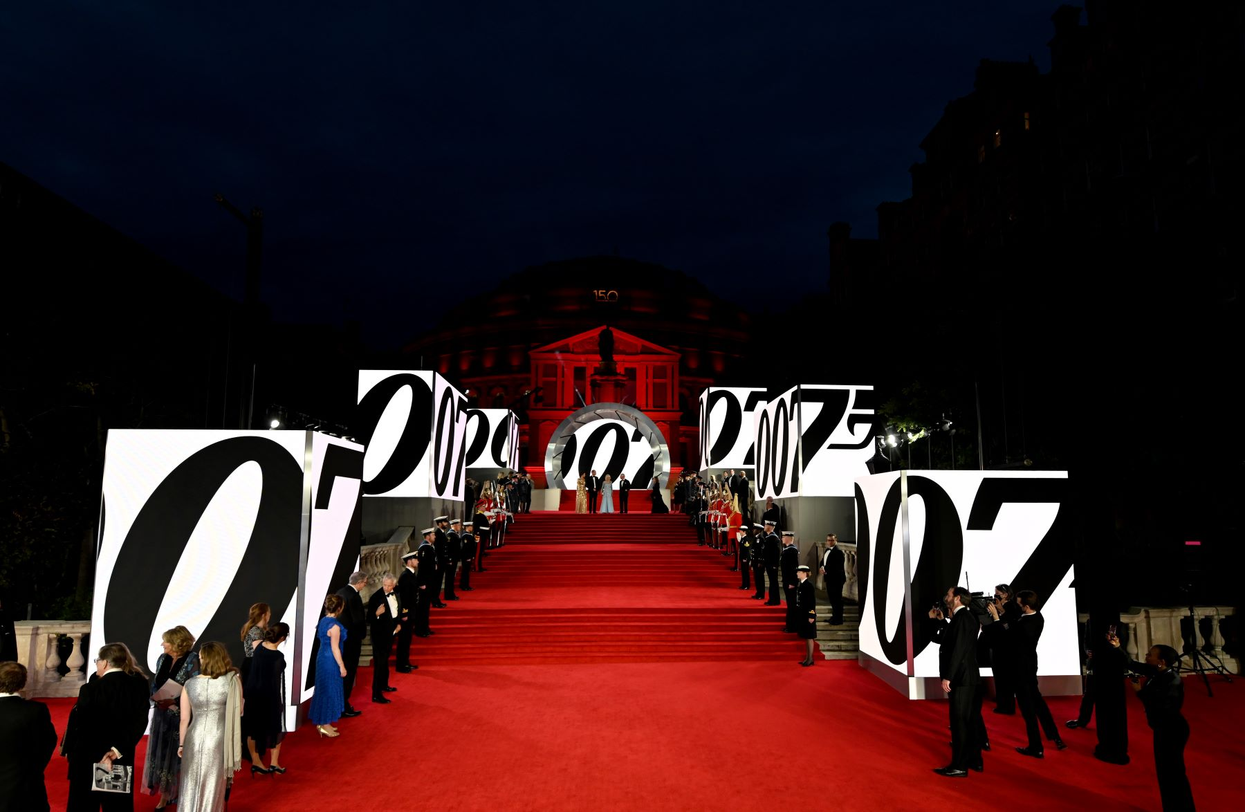 The 'No Time to Die' red carpet world premiere in London, England