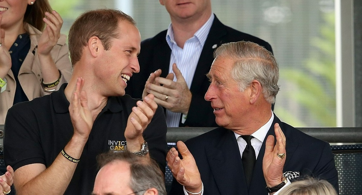 Prince William and Prince Charles at the Invictus Games