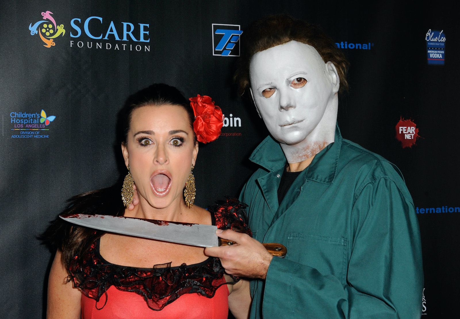 Kyle Richards from RHOBH shares her fears about filming Halloween Kills