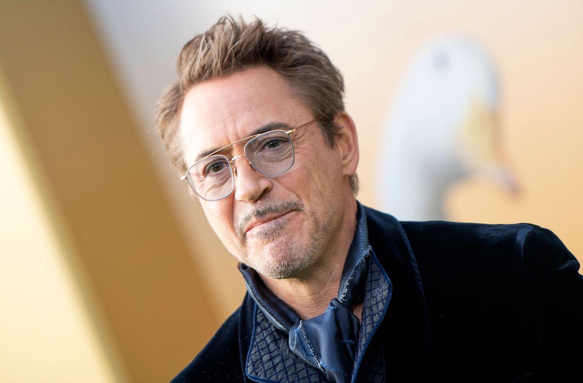 Robert Downey Jr smiling