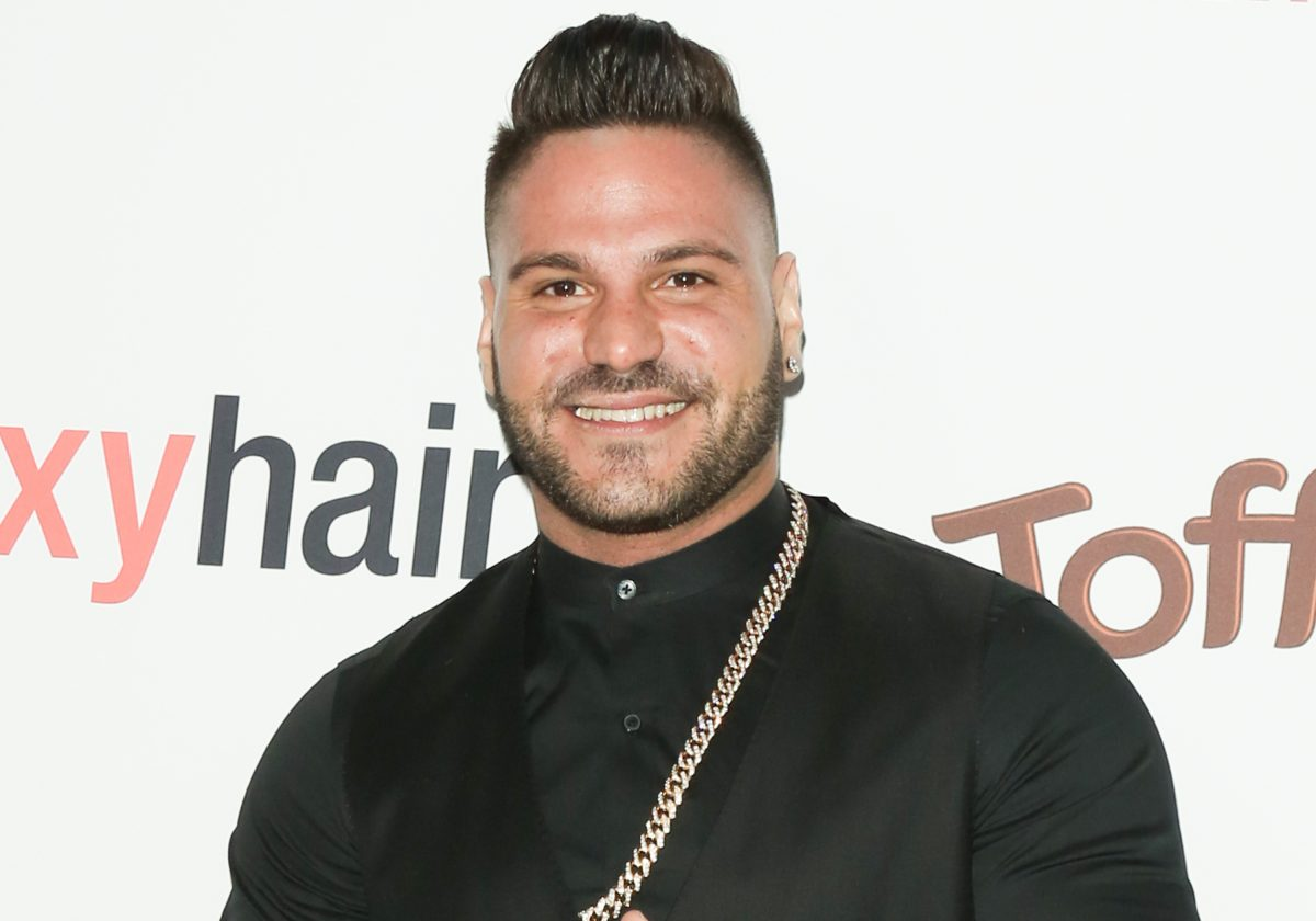 Ronnie Ortiz-Magro from 'Jersey Shore' smiles for the camera