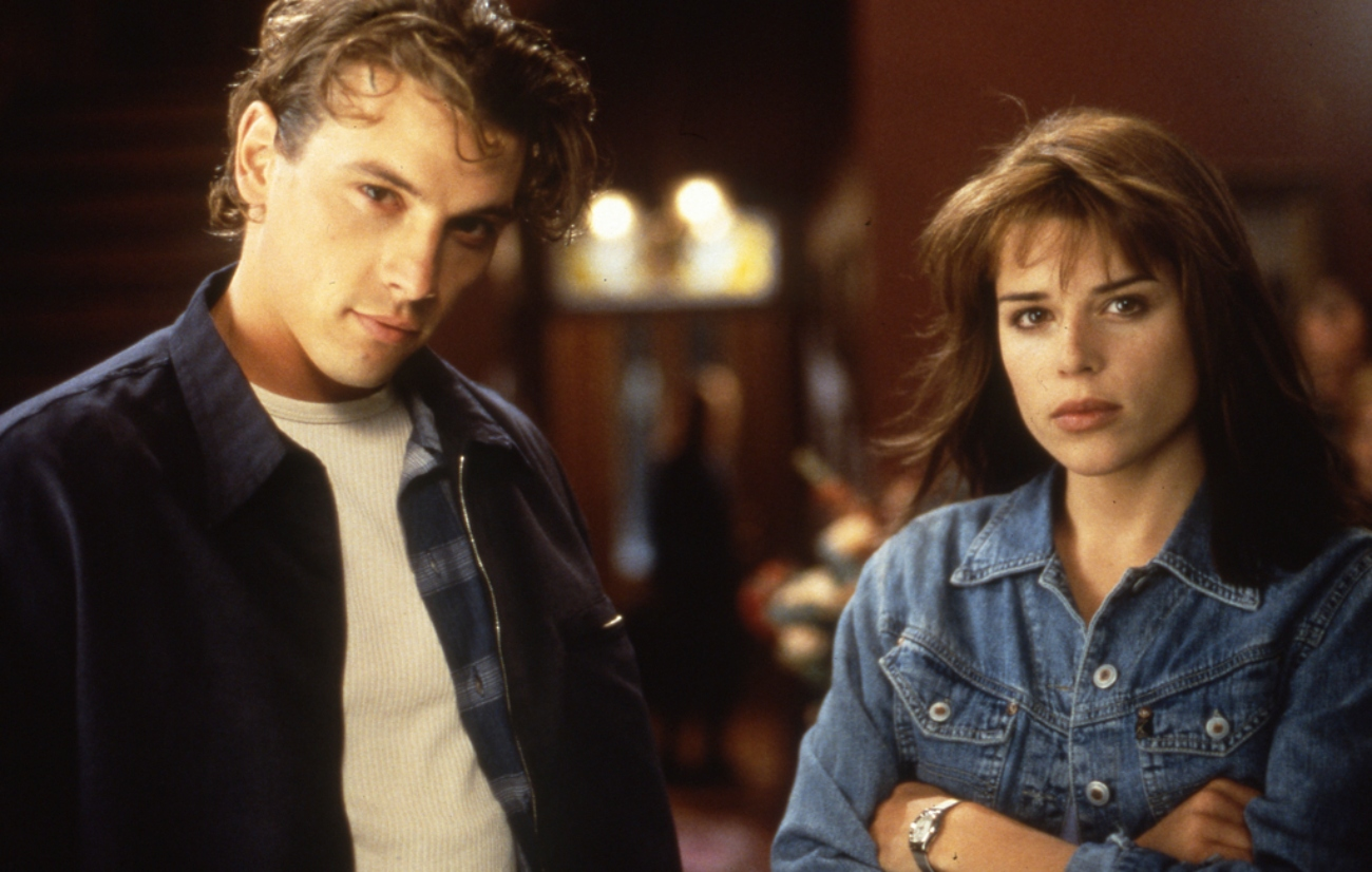 'Scream' with Skeet Ulrich as Billy and Neve Campbell as Sidney